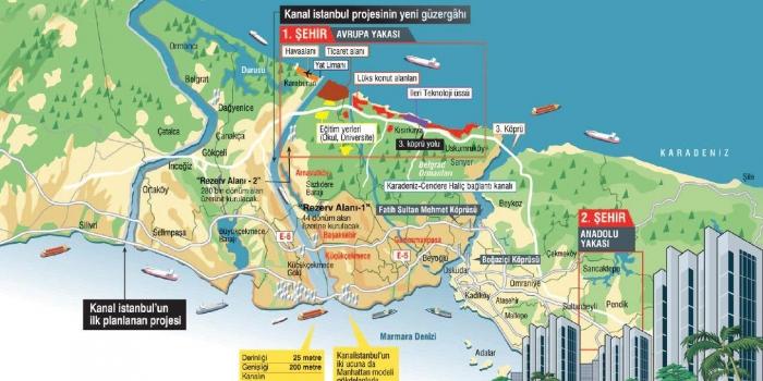 Kanal İstanbul bağlantı yollarına 5.3 milyar harcanacak