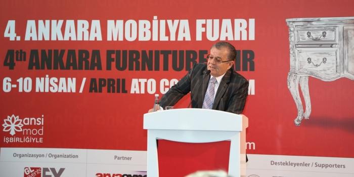 Ankara mobilya fuarı açıldı