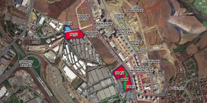 Esenyurt Hoşdere 6. etap ihalesi 3 Mayıs'ta yapılacak