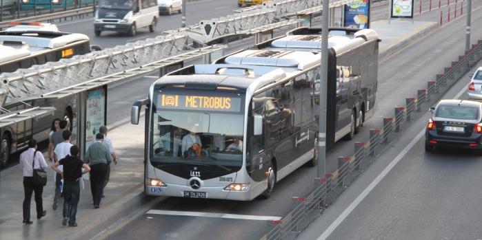 Metrobüs yolundaki çalışma 194 gün sürecek