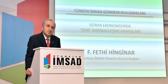 Türkiye İMSAD'dan normalleşme uyarısı