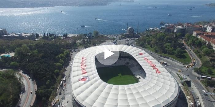 Vodafone arena açılış