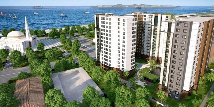 Pendik Sahil Konakları fiyatları metrekaresi 8 bin TL'den başlıyor