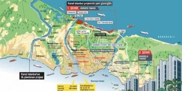 Mega kente nihai hançer: Kanal İstanbul