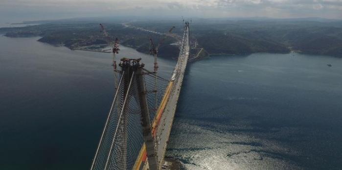 Üçüncü Köprü 26 Ağustos'u bekliyor