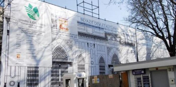 Beyazıt kütüphanesi restorasyon