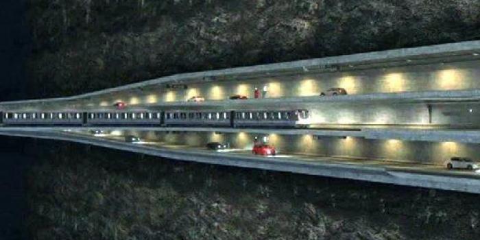 3 katlı istanbul tüneli