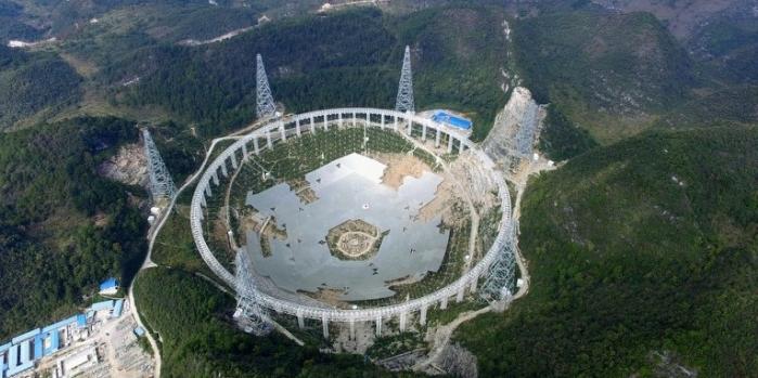 Dünyanın en büyük teleskobu Çin'de inşa ediliyor