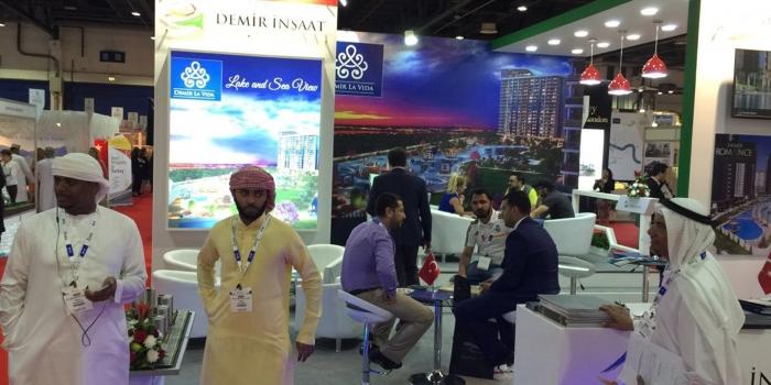 Demir İnşaat'a Dubai'de büyük ilgi