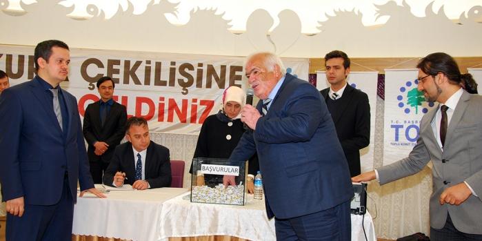 TOKİ Kastamonu Taşköprü'de 250 emekli konut hakkı kazandı