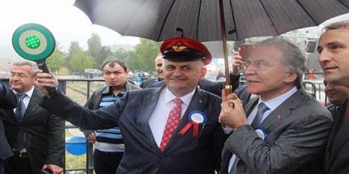 Karabük Zonguldak demiryolu hattı açıldı
