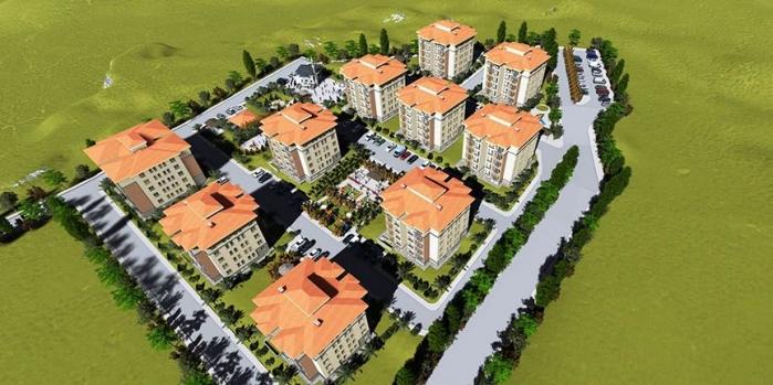 TOKİ Çorum Osmancık'a yerel mimaride konut inşa edecek