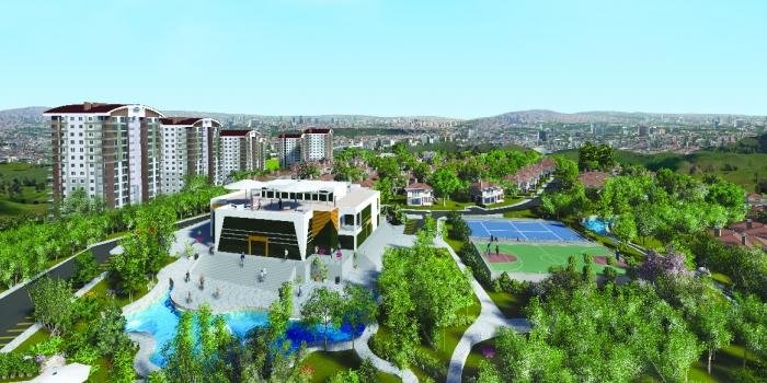 Yatay yapılaşmanın Ankara'daki öncüsü: Mebuskent