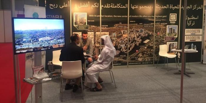 Pana Yapı Fikirtepe projelerini Katar'da tanıttı