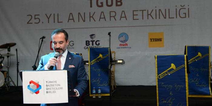 TGÜB'de Başkan değişti