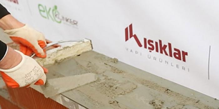 Yapı malzemelerinde bir ilk: Mantolu tuğla
