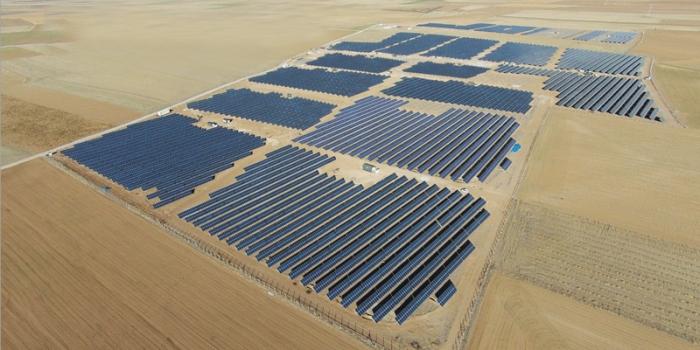 Konya güneş santrali