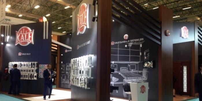 Kale Endüstri Holding ürünlerini Yapı Fuarı'nda tüketici ile buluşturuyor