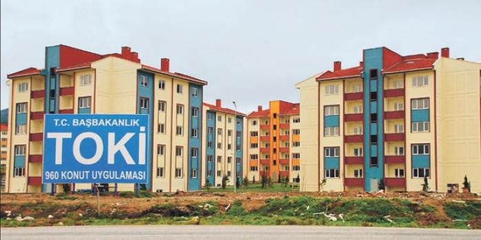 Nevşehir merkez kale etrafı toki konutları