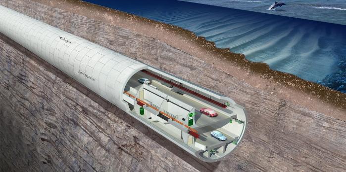 Avrasya Tüneli'nde sona yaklaşılıyor
