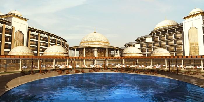Thermal Palace Resort'un ilk etap teslimleri yapıldı