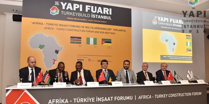 Türk yapı sektörü Afrikalı konuklarını ağırladı