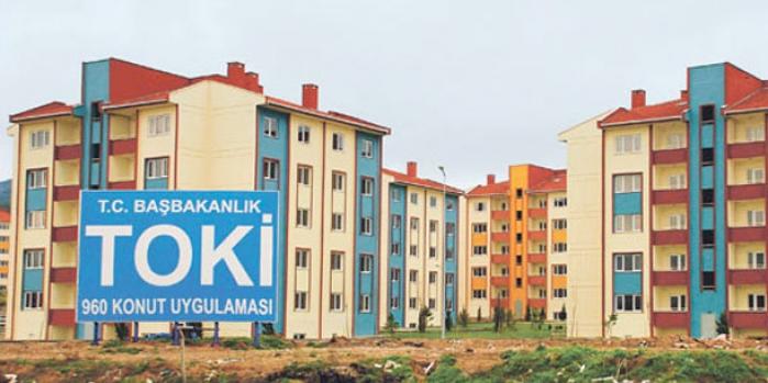 Nevşehir merkez kale etrafı toki kura çekilişi