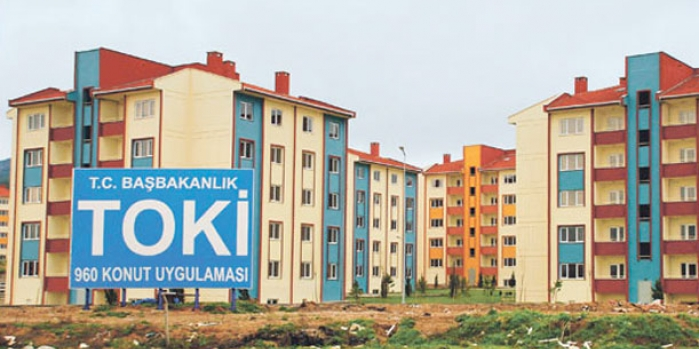 Nevşehir merkez kale etrafı toki kura sonuçları