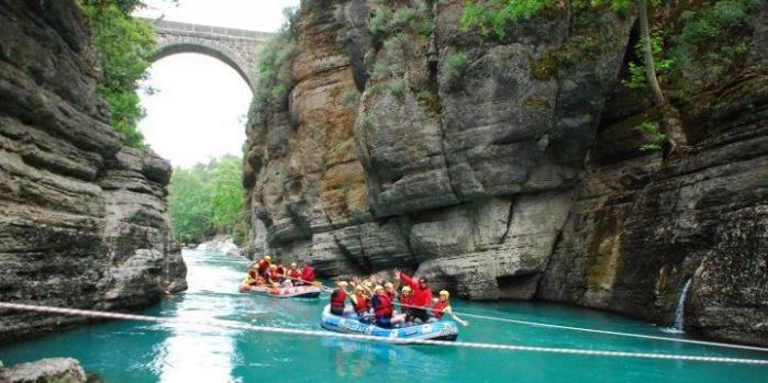 Köprülü kanyon rafting