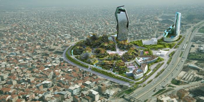 Anahtar Teslim Kentsel Dönüşümü artık Bursa'da