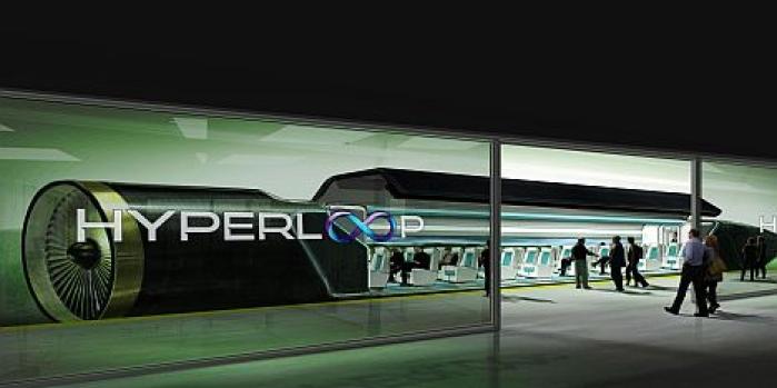Hyperloop otomobil taşıyacak