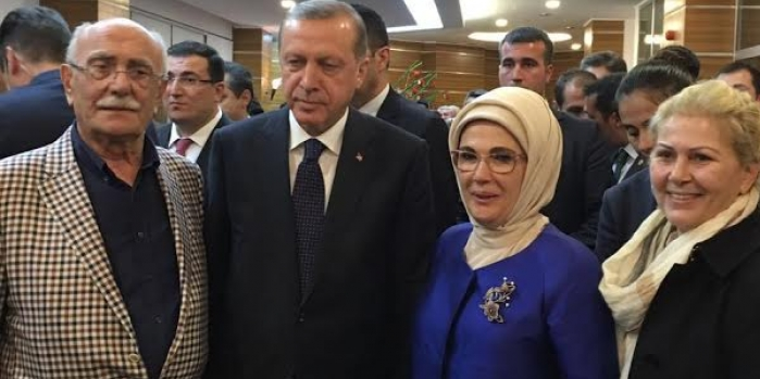 İbrahim Dumankaya, Cumhurbaşkanı Erdoğan ile buluştu