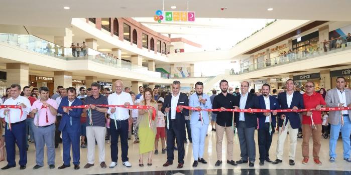 Manavgat'ın ilk AVM'si açıldı