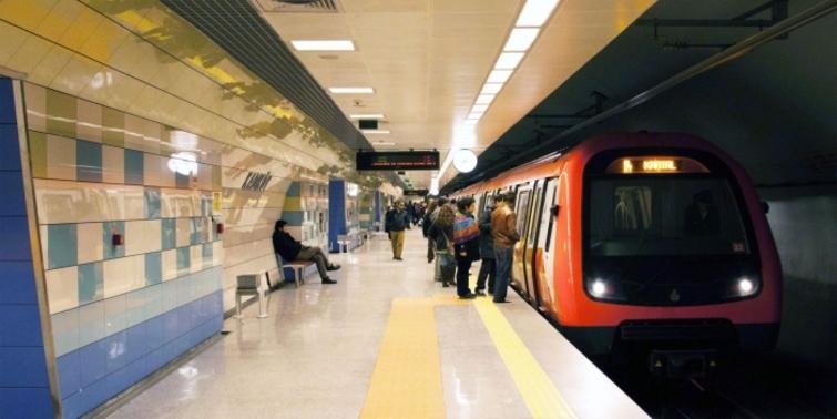 3. Havalimanı metro hattı durakları