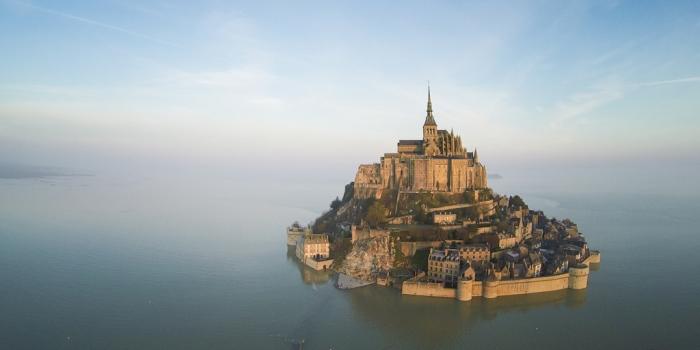 Fransa'nın büyülü manastırı: Mont Saint Michel
