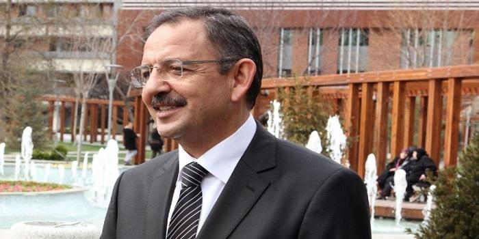 Gayrimenkul sektörü temsilcileri Mehmet Özhaseki'yi tebrik etti