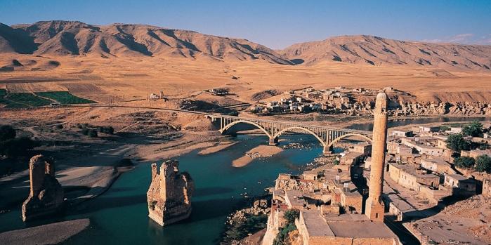 Hasankeyf'in tarihi eserleri taşınıyor