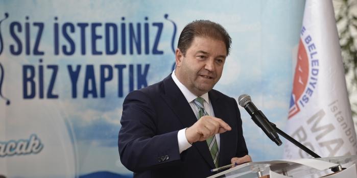 Maltepe Belediye Başkanı Ali Kılıç karayolları arazisine sahip çıktı