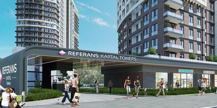 Referans Kartal Towers daire fiyatları 260 bin TL'den başlıyor!