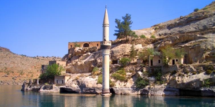 Türkiye'de su altında kalan batık antik şehirler