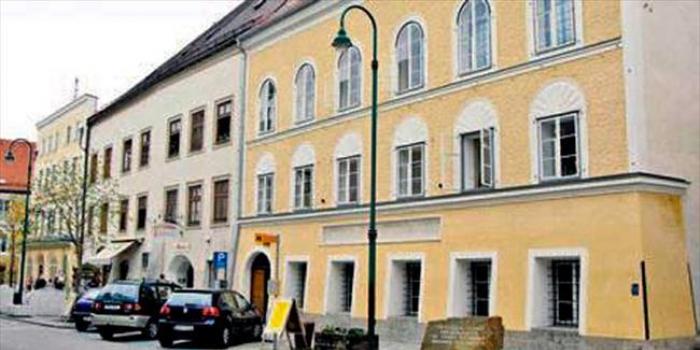 Hitlerin doğduğu ev