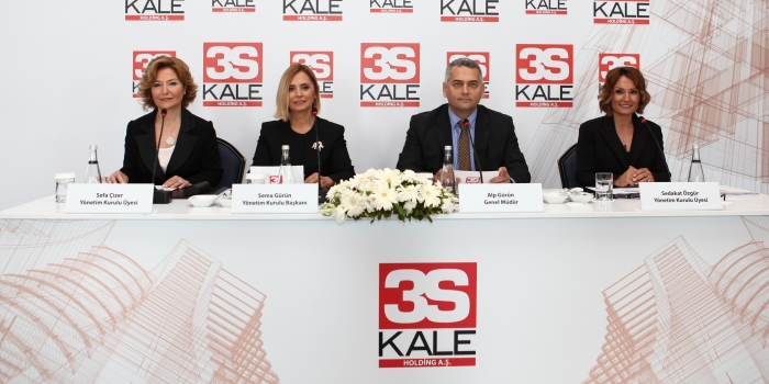 3S Kale yeni projeler için hazır