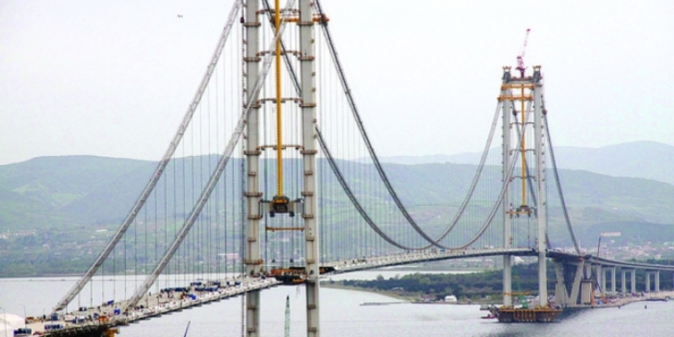 İzmit Körfez Geçiş Köprüsü son durum!