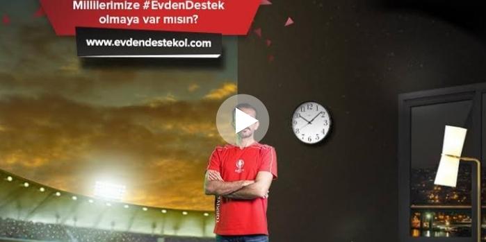 Tahincioğlu'nun Evden Destek Ol reklam filmi yayına girdi