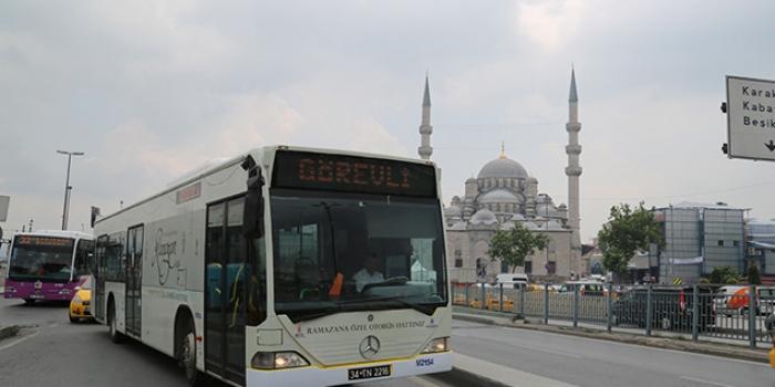 İETT'den Ramazan için ek sefer düzenlemesi