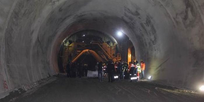 Ovit Tüneli'nde son 900 metre!