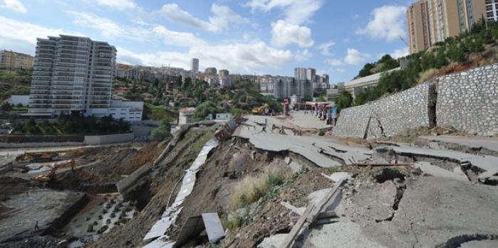 Ankara'da göçüğe sebep olan firmaya rekor ceza