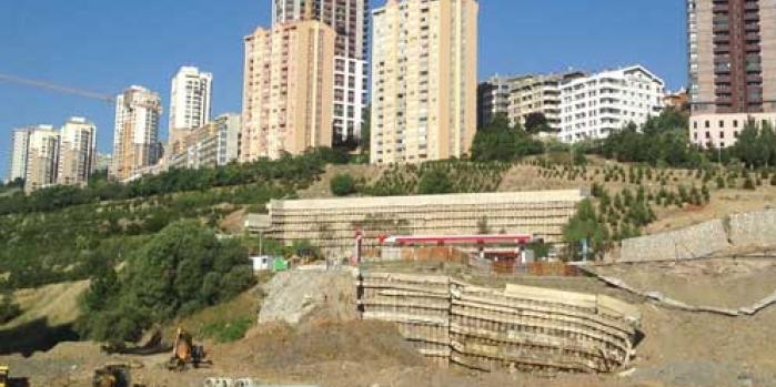 Ankara toprak kayması