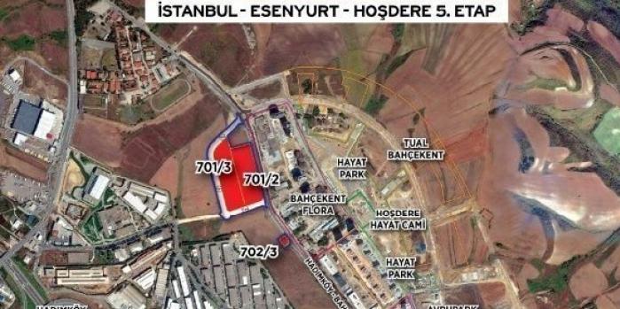 Esenyurt Hoşdere 5. etap sözleşmesi imzalandı