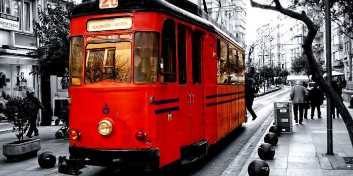 Esenler'e nostaljik tren geliyor